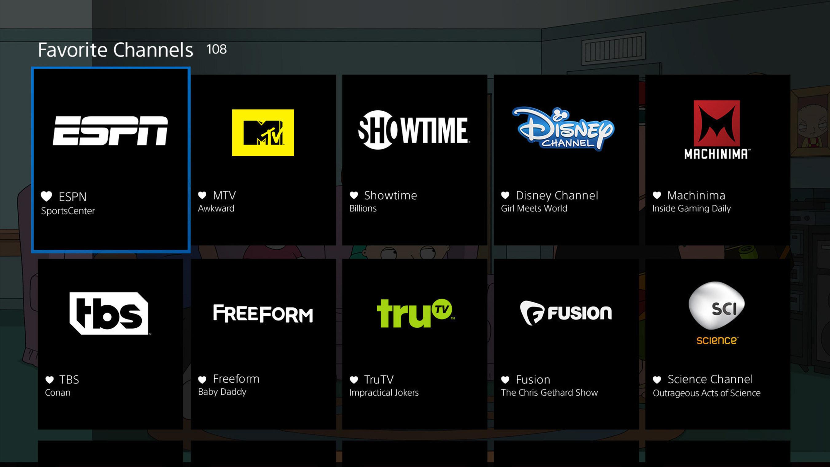 PlayStation(TM)Vue Internet-Based Live TV Service Expands Nationwide