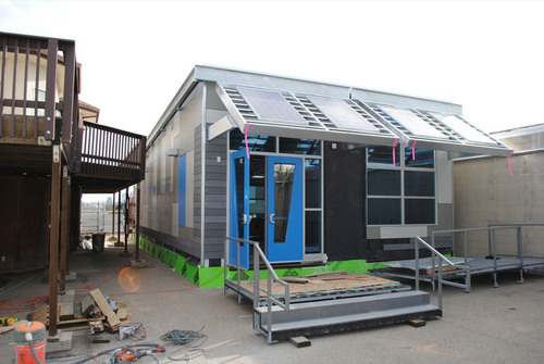 New From PG&E: Zero Net Energy Home Display And Modular Classroom At Energy Training Center In