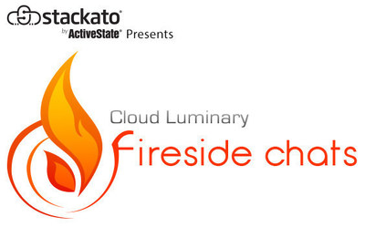 Stackato by ActiveState Presents Cloud Luminary Fireside Chats (PRNewsFoto/ActiveState)
