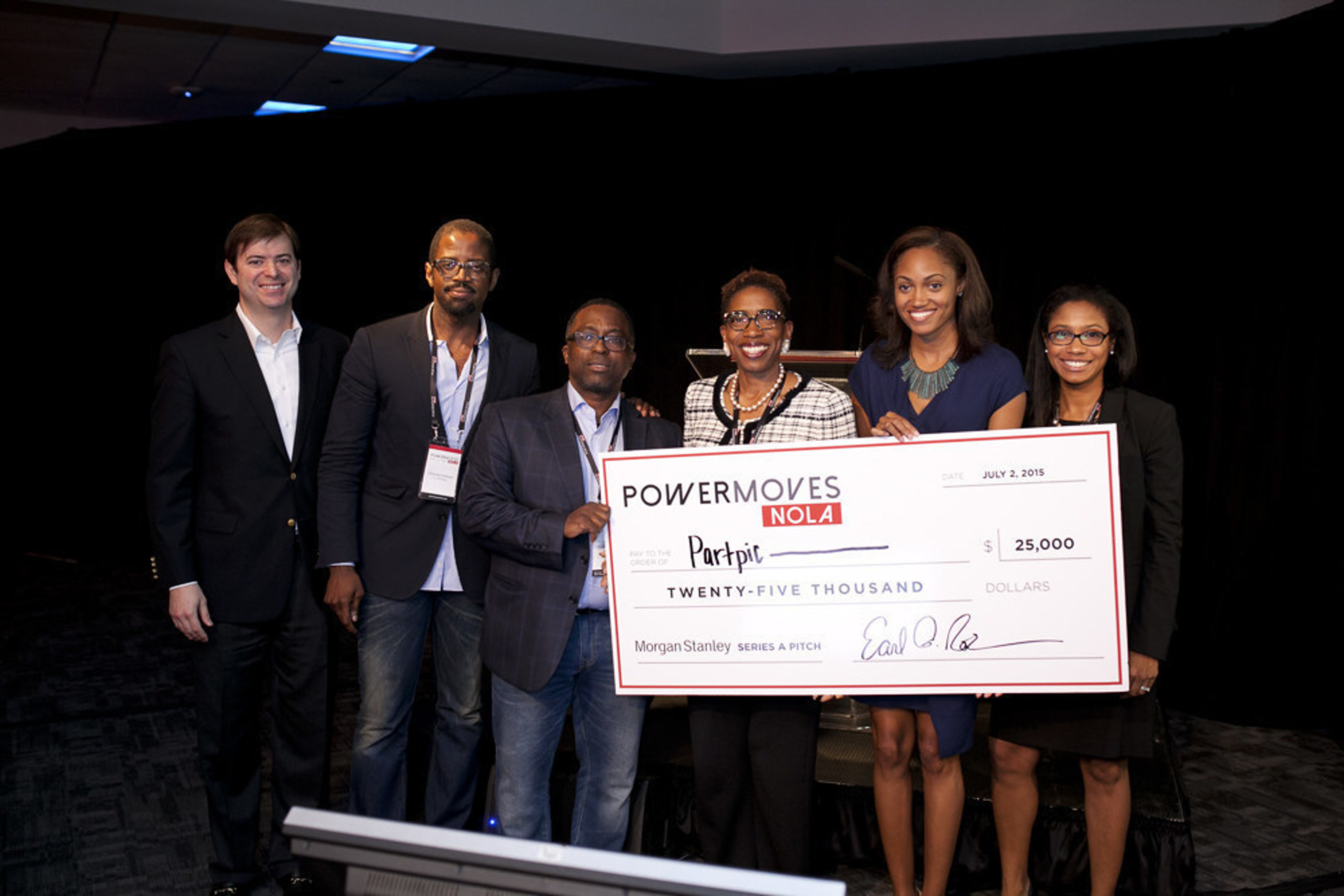Partpic won a $25,000 cash prize at the Morgan Stanley Series A Pitch contest during the PowerMoves.NOLA annual conference. The startup company's enterprise software solution simplifies the search and purchase process of replacement parts using visual recognition technology.