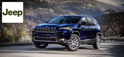 The 2015 Jeep Cherokee is set to enjoy its second model-year run at Airdrie Dodge. (PRNewsFoto/Airdrie Dodge)
