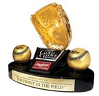 First-Ever Female Athlete to Win Rawlings Gold Glove Award®