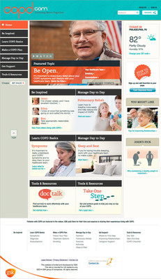 GSK's COPD.com Relaunch Promotes Understanding and Dialogue about COPD