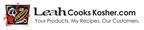 Leah Cooks Kosher.  (PRNewsFoto/Leah Cooks Kosher)