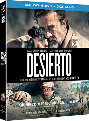From Universal Pictures Home Entertainment: Desierto