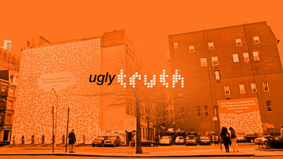 """The """"ugly truth"""" campaign reveals thought-provoking facts about tobacco and the tobacco industry.  (PRNewsFoto/Legacy - truth Campaign)"""