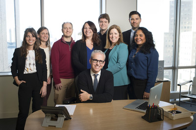 Editorial Director Jess Cagle with the People Magazine team, as seen on PEOPLE MAGAZINE INVESTIGATES premiering on Investigation Discovery. Investigation Discovery/ Scott Gries