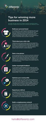 Tips for winning more business in 2014 by Differentz.com (PRNewsFoto/Differentz.com)