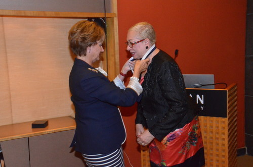American Humane Association Awards National Humanitarian Medal To MUFG's Liz Lyman For Role In