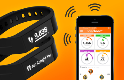 Introducing another exclusive first to the market, Sonic Boom's Boomerang is a smartwatch AND activity tracker with the power of two-way messaging - bringing the entire program to an interactive touchscreen on members' wrists. For more information, please contact boomerang@sbwell.com