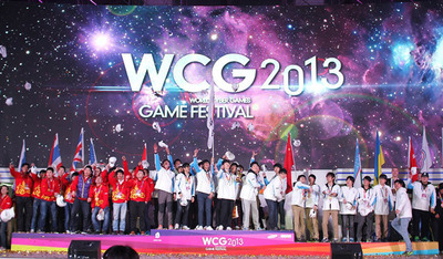 WCG 2013 Grand Final in Kunshan, China Comes to a Successful End with 155,000 Spectators!!!(PRNewsFoto/World Cyber Games)