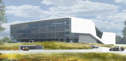 Porsche Headquarters, Image Credit: HOK(PRNewsFoto/Porsche Cars North America, Inc.)