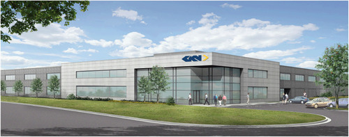 Artist rendering of new GKN headquarters.  (PRNewsFoto/GKN)