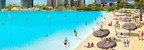 Crystal Lagoons concept - Idyllic beach life and water sports