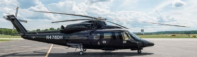 Toronto-based operator Fig Air has ordered an S-76D(TM) VIP helicopter like the aircraft pictured.