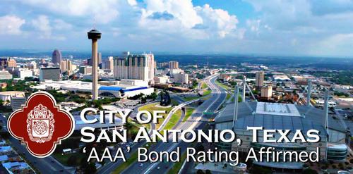 Afirmado alto rating de bonos de la ciudad de San Antonio