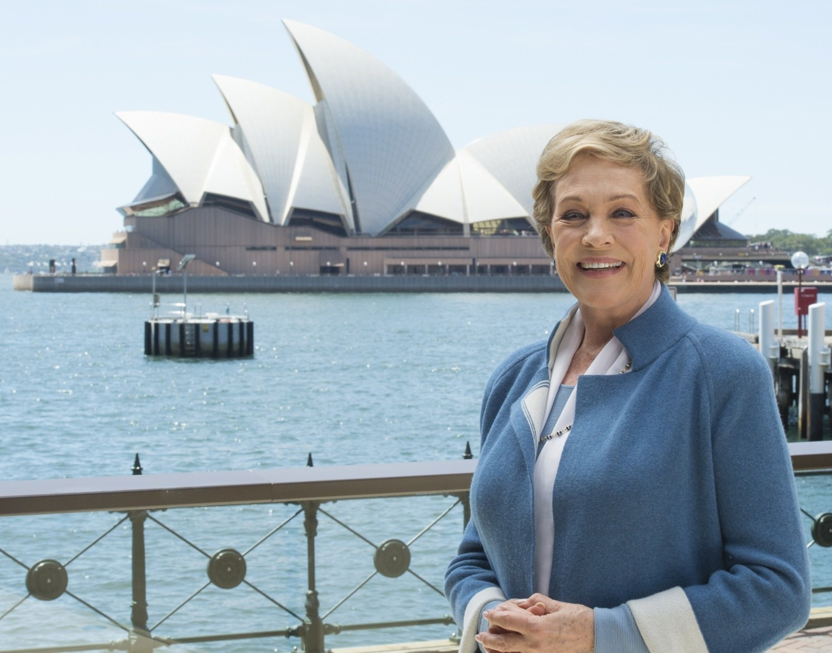 Dame Julie Andrews in Sydney to cast the 60th Anniversary production of Lerner and Loewe's My Fair Lady which ...