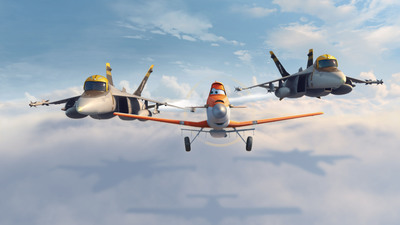 "Disney ""Planes"" available on Blu-ray Combo Pack, November 19.  (PRNewsFoto/The Walt Disney Studios)"