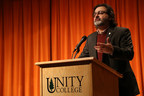 Dr. Melik Peter Khoury is the 11th president of Unity College, America's Environmental College, which enrolls 650 undergraduate students in Unity, Maine.