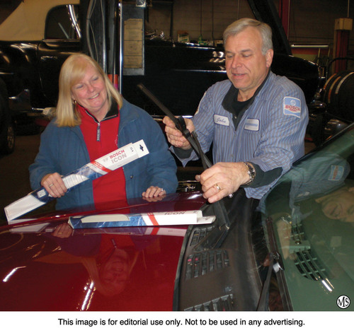 Driving safely in extreme weather conditions demands the best wiper blades you can buy. Bosch ICON(TM) wiper ...