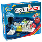 ThinkFun's(R) newest learning game, Circuit Maze, provides a boost of brainpower with logic puzzles that teach how electricity works.