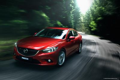 The 2014 Mazda6 was named Best New Vehicle at the GAAMA international auto show.  (PRNewsFoto/Bill Jacobs Mazda)