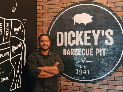 Harman Dhesi opens new Dickey's Barbecue Pit location in Westley, CA.
