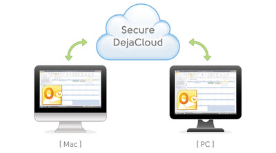 Synchronize PC Outlook with Mac using DejaCloud by CompanionLink.  (PRNewsFoto/CompanionLink Software)