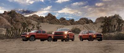 Toyota TRD Pro Series.  (PRNewsFoto/Toyota Motor Sales, U.S.A., Inc.)