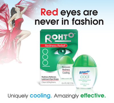 Rohto® Cooling Eye Drops: A Sleek New Twist For Beautiful Eyes
