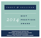 Frost & Sullivan's 2014 Best Practices Award bestowed on Dunkermotoren