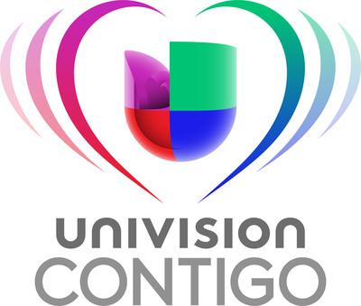 Univision Contigo Logo.  (PRNewsFoto/Univision Communications Inc.)
