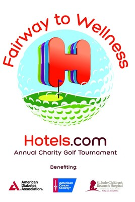 Hotels.com third annual Fairway to Wellness Golf Tournament will benefit St. Jude Children's Research Hospital, American Cancer Society and the American Diabetes Association on Wednesday, October 29th at the Cowboys Golf Club.