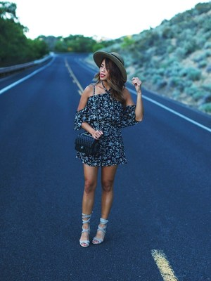 Gypsy Tan shares her fashion genius  in a perfect summer look featuring Steve Madden Christey lace-up heels as part of Stylinity's multi-brand influencer marketing campaign.