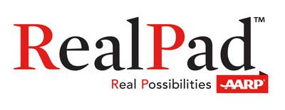 AARP RealPad logo (PRNewsFoto/AARP)