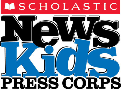 """The Scholastic News Kids Press Corps reports """"news for kids, by kids."""""""