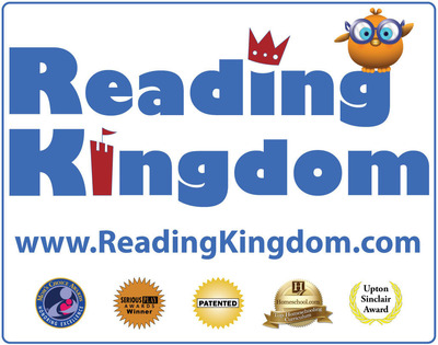 Reading Kingdom, award-winning online reading & writing program for K-3. (PRNewsFoto/Reading Kingdom) (PRNewsFoto/READING KINGDOM)