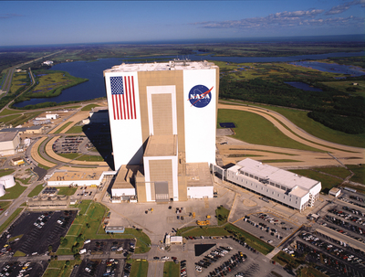 Visitors to NASA's Kennedy Space Center Visitor Complex now have the opportunity to see inside the Vehicle Assembly Building for the first time in more than 30 years.  (PRNewsFoto/Kennedy Space Center Visitor Complex)