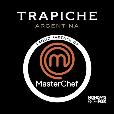 Trapiche is a proud partner of MASTERCHEF on FOX. (PRNewsFoto/Trapiche)