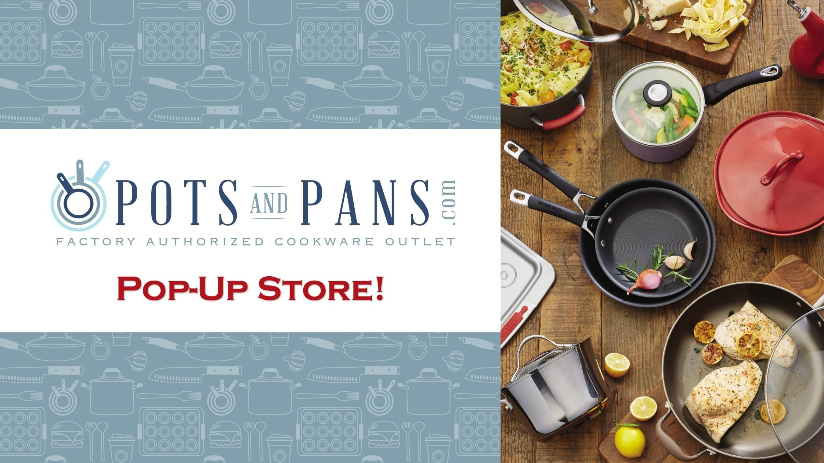 PotsandPans.com Opens Pop Up Store In California's Bay Area