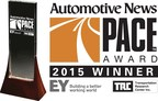 Sika Automotive wins two awards In 2015 PACE Award competition for Innovative Sikaflex(R) Ultra-High Modulus Adhesive Technology.