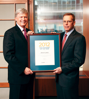 Global Association of Risk Professionals Presents 2012 Risk Manager of the Year Award to Citi's Brian Leach at 14th Annual Risk Management Convention in New York City
