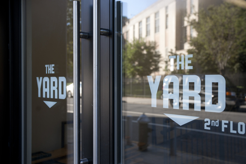 Introducing the yard space to work for The yard space to work
