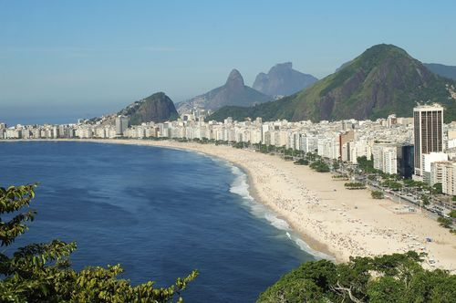 Photo of Copacabana beach: Copyright: Celsopupo for iStock (PRNewsFoto/red24)