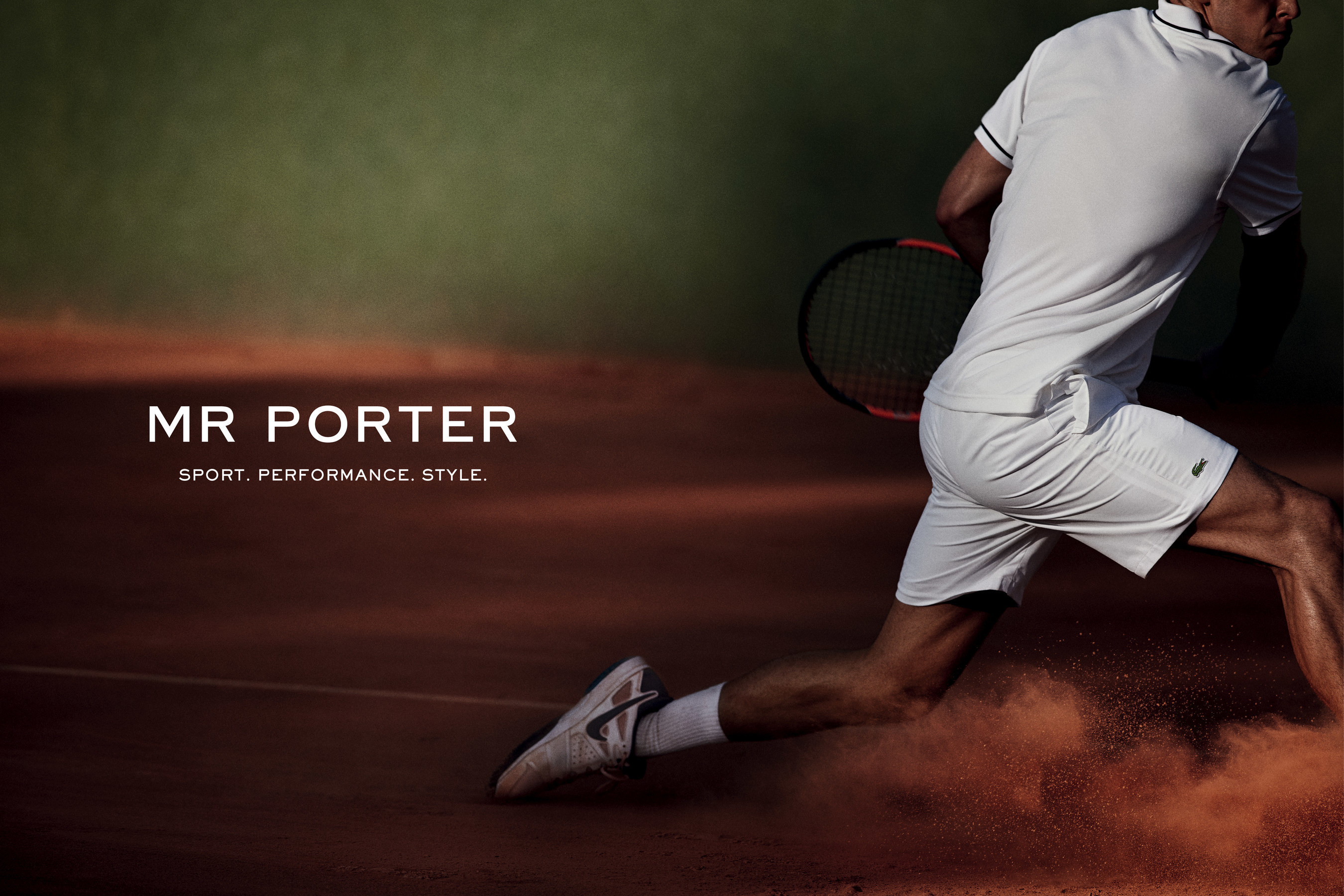 MRPORTER.COM, the award-winning global retail destination for men's style, will launch a new athletic and performance category titled MR PORTER SPORT on 28 April 2015