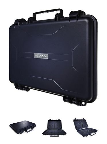 The 007 case does exist, with an Italian twist! Vivax launches toughest laptop case ever constructed. (PRNewsFoto/ViVAX Italia S_r_l_)