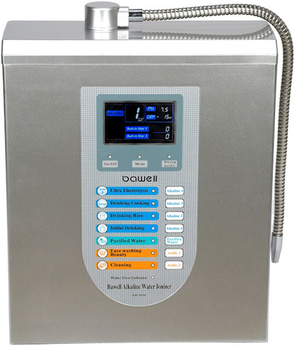 Connect an alkaline water ionizer to your kitchen faucet to make ionized drinking water with many medically ...