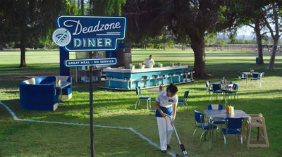Dixie(R) today launched Deadzone Diners, a campaign inspiring people to disconnect from their mobile devices and connect over a meal.