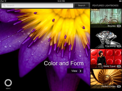 Shutterstock Launches iPad App