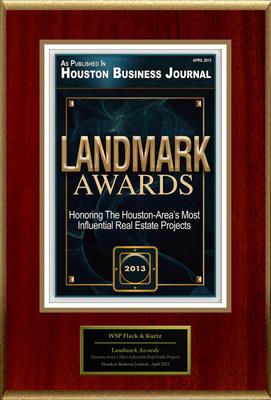 """WSP Flack & Kurtz Selected For """"Landmark Awards"""". (PRNewsFoto/WSP Flack & Kurtz) (PRNewsFoto/WSP FLACK & KURTZ)"""